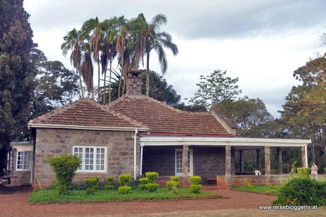 Das Karen Blixen Museum in Nairobi
