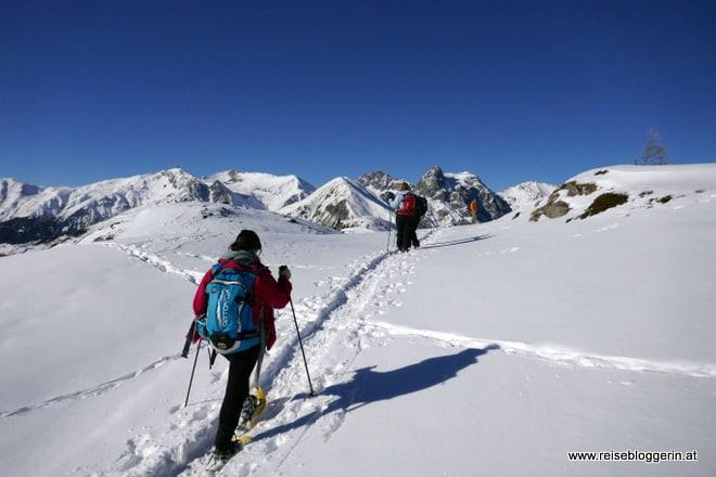 Schneeschuhwandern in Livigno