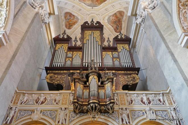 Die Festorgel in der Stiftskirche Klosterneuburg