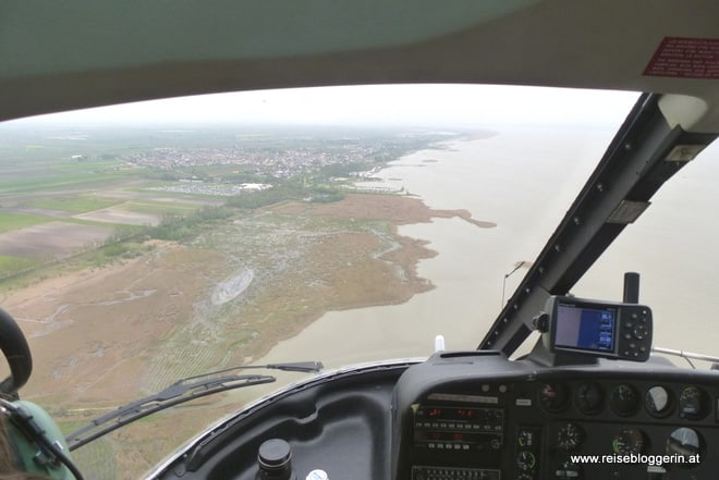 Hubschrauberflug am Neusiedlersee