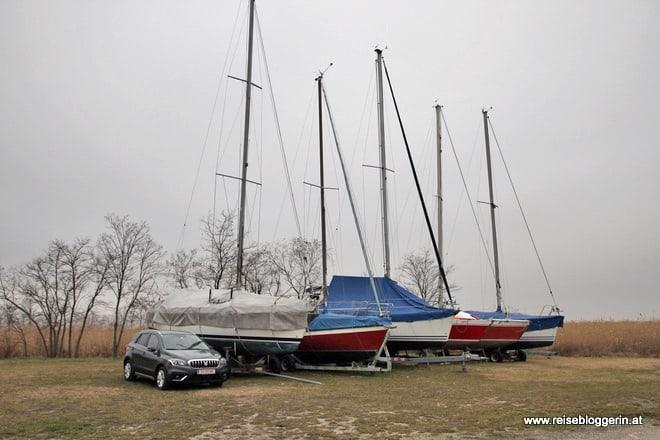 Am Neusiedlersee mit dem Suzuki SX4 S-Cross