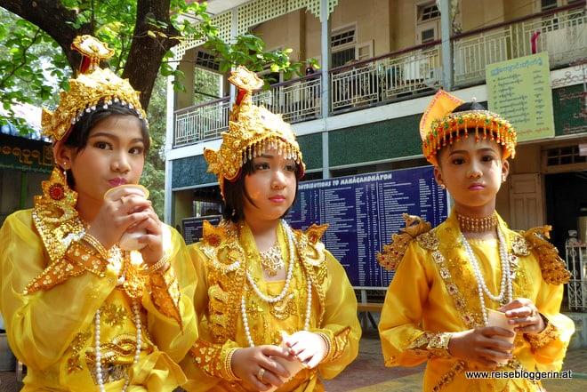 Novizen in Myanmar