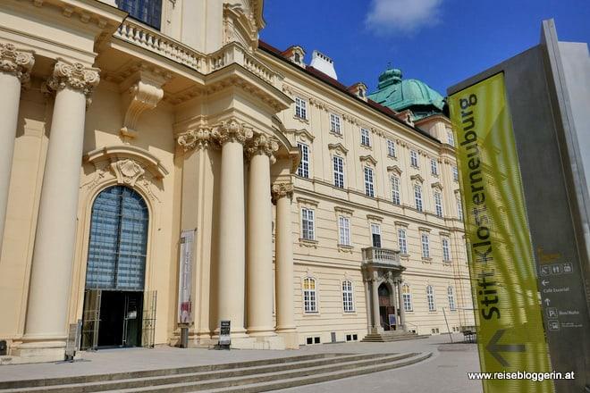 Das Stift Klosterneuburg in Niederösterreich