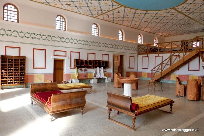 Versammlungsraum Römische Therme in Carnuntum