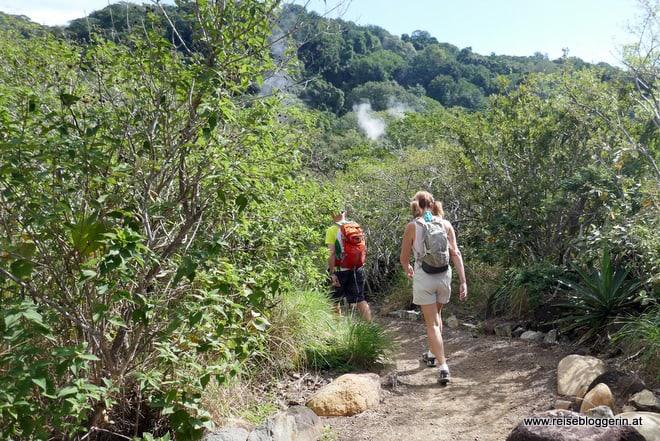Wanderung im Nationalpark Rincón de la Vieja