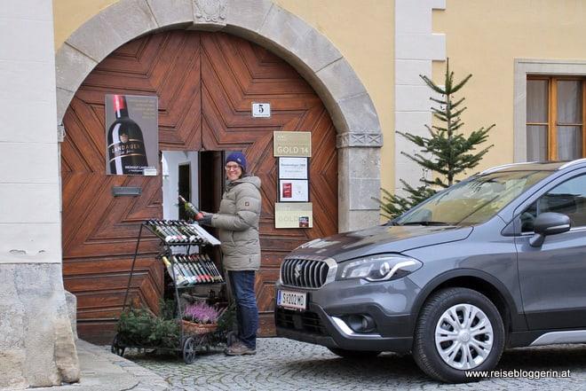 Weinkaufen in Rust am Neusiedlersee