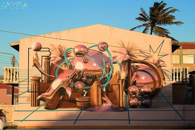 [7ways2travel] - Street Art in Aruba