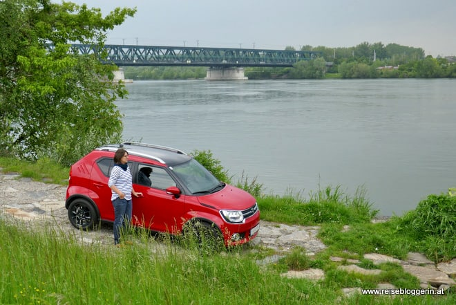 Unterwegs mit dem Suzuki Ignis entlang der Donau