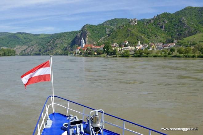 Dürnstein - Unterwegs mit der Brandner Schiffahrt