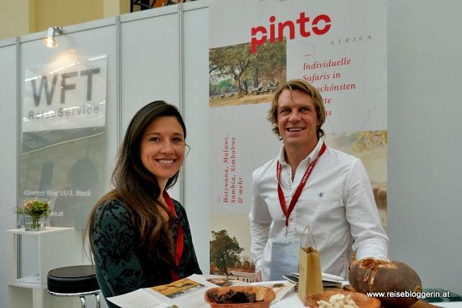 Luke und Bettina Evans von Pinto Africa