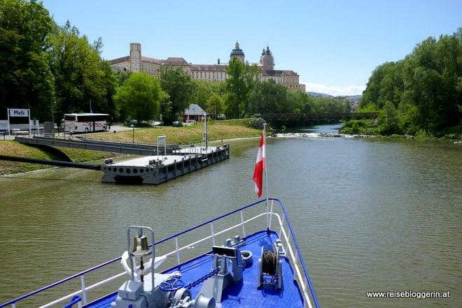 Melk an der Donau - Unterwegs mit der Brandner Schiffahrt