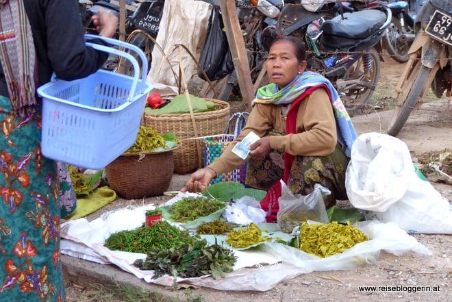 Ein 5-Tages Markt am Inle See