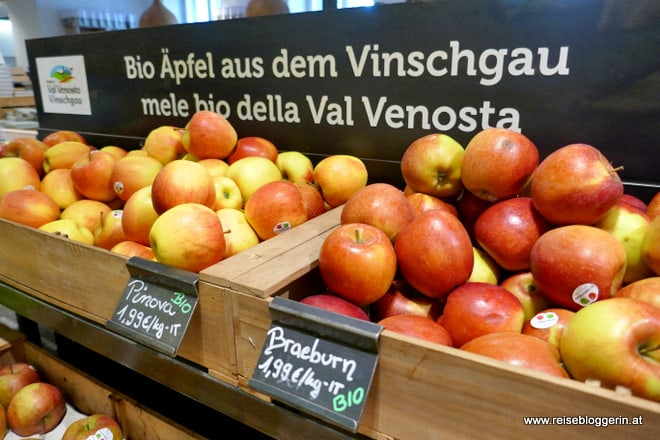 Bioäpfel aus Vinschgau