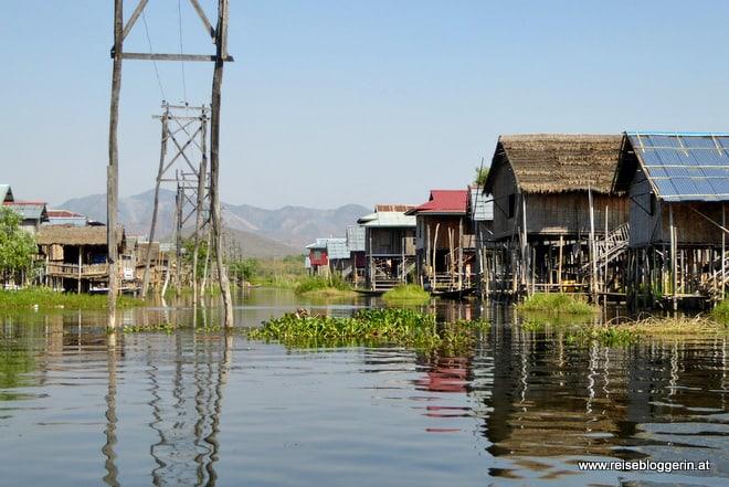 Ein Dorf am Inle-See