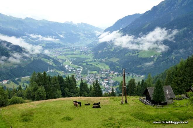 Das Gasteinertal im Salzburger Land