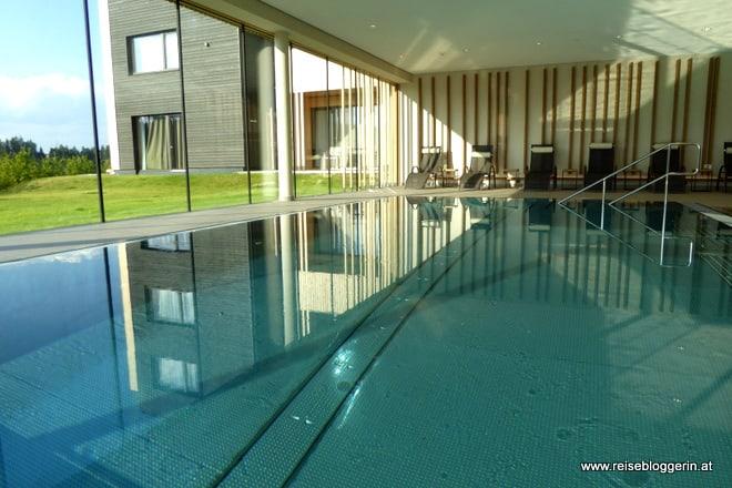 Indoor Pool der Schwarz Alm Zwettl