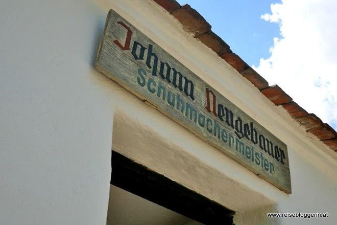 Johann Neugebauer Schuhmachermeister