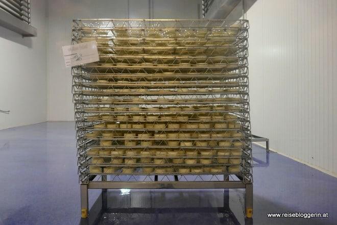 Reiferaum für den Käse