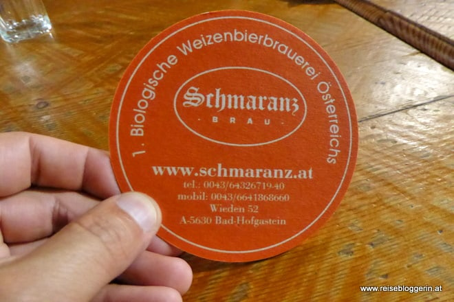 Schmaranz Bräu in Bad Hofgastein