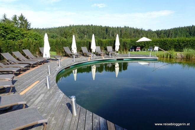 Schwimmteich in der Schwarz Alm Zwettl