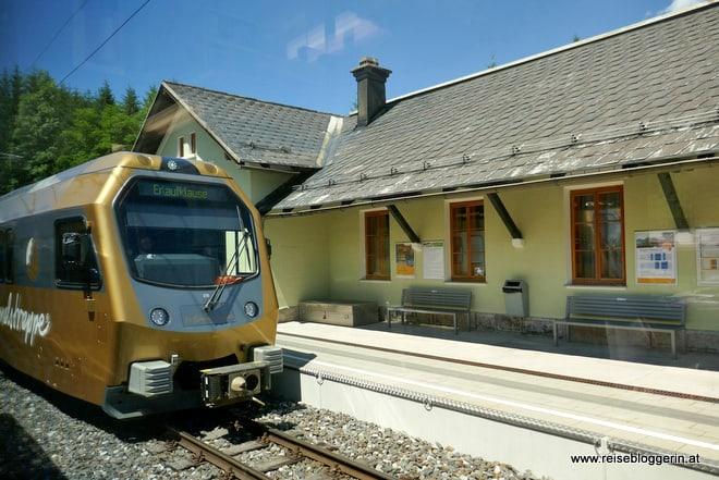 Bahnhof Wienerbruck mit der Mariazellerbahn