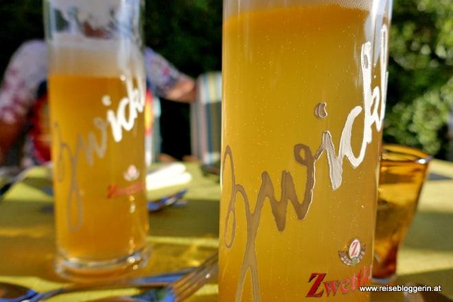 Zwickl aus der Zwettler Brauerei