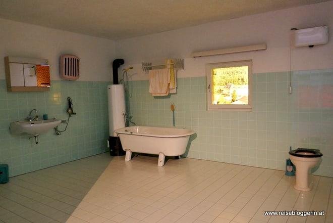 Badezimmer aus dem Jahre 1960