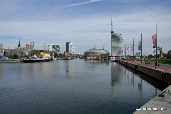 Der Neue Hafen von Bremerhaven