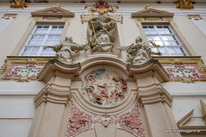 Innenhof im Stift Zwettl