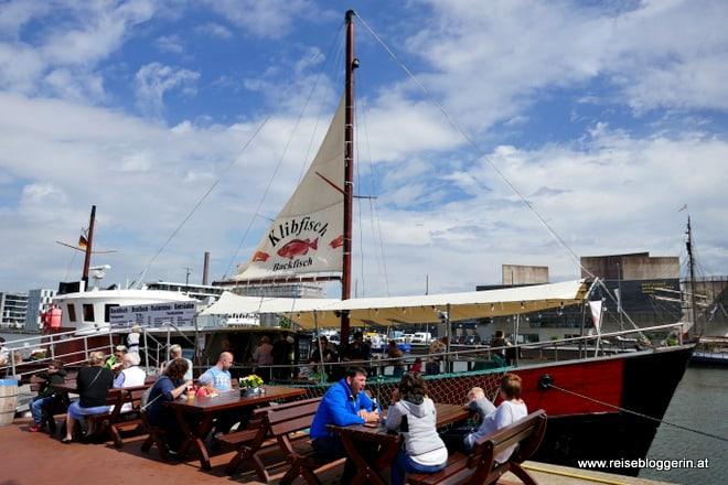 Das Restaurantschiff Klibfisch