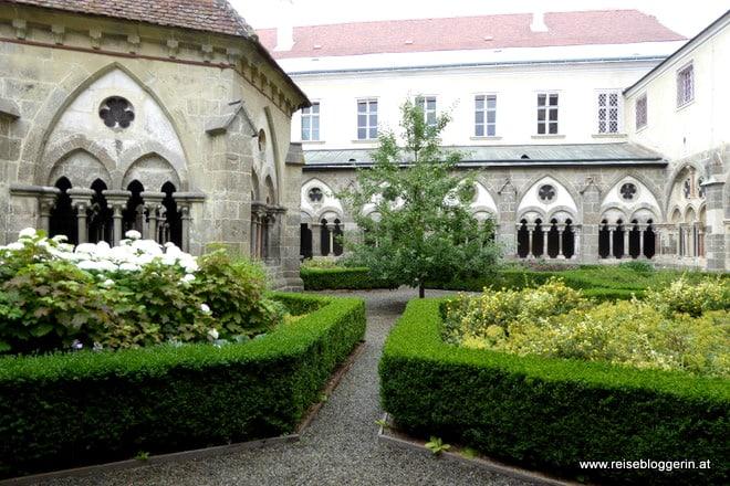 Klostergarten im Stift Zwettl