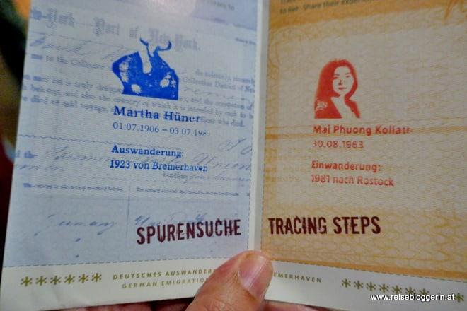 Spurensuche im Auswandererhaus in Bremerhaven