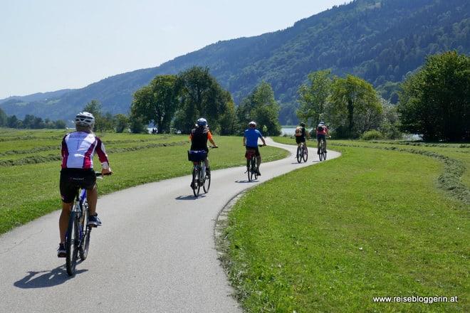 Donauradweg in Oberösterreich