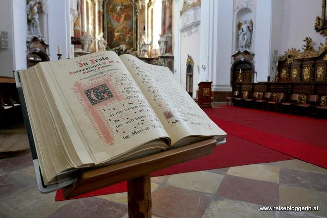 In der Stiftskirche Engelszell