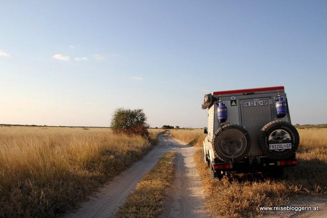 Mit dem Jeep durch Botswana