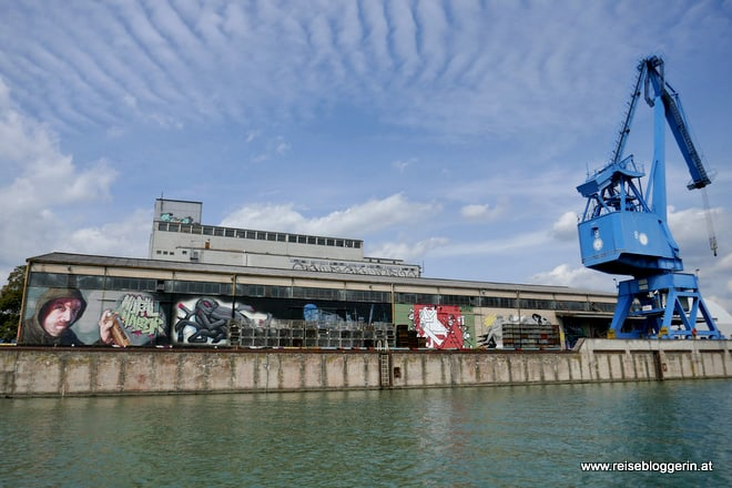 Der Mural Harbor in Linz