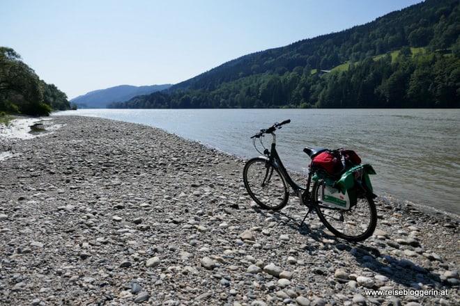 Der Donauradweg in Oberösterreich