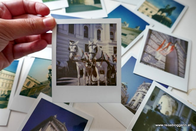 Polaroidtour in Wien