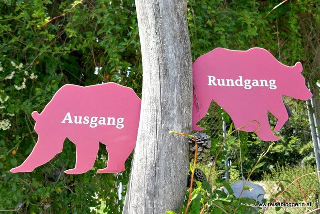 Rundgang durch den Bärenwald in Arbesbach
