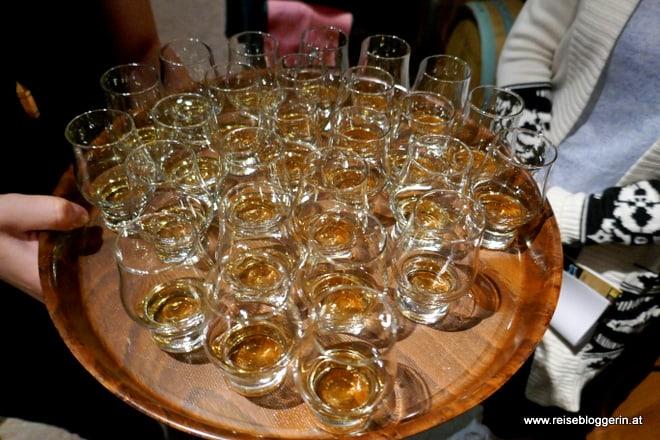 Whiskyverkostung in der Whiskydestillerie Haider im Waldviertel