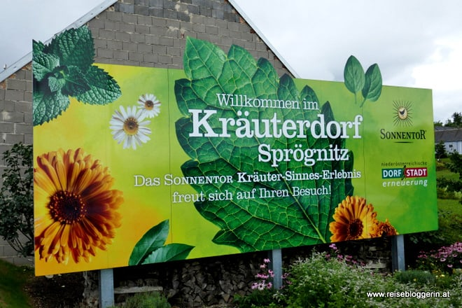 Kräuterdorf Sprögnitz im Waldviertel