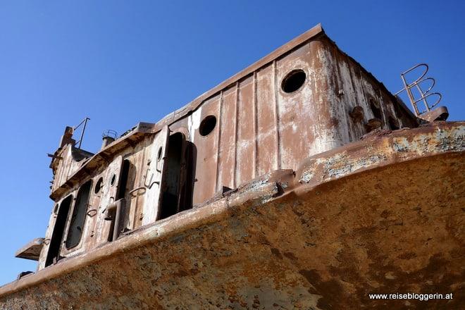 Friedhof der Schiffe am Aralsee
