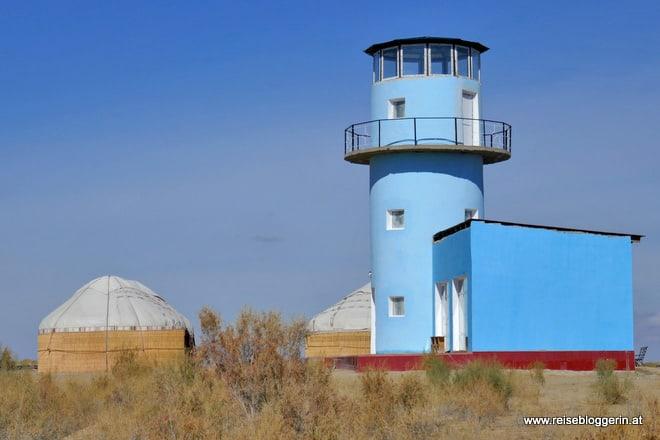 ehemaliger Leuchtturm am Aralsee