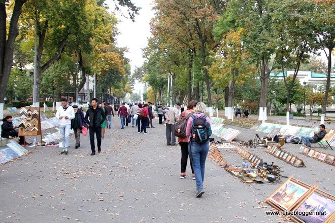 Ein Stadtbummel in Taschkent