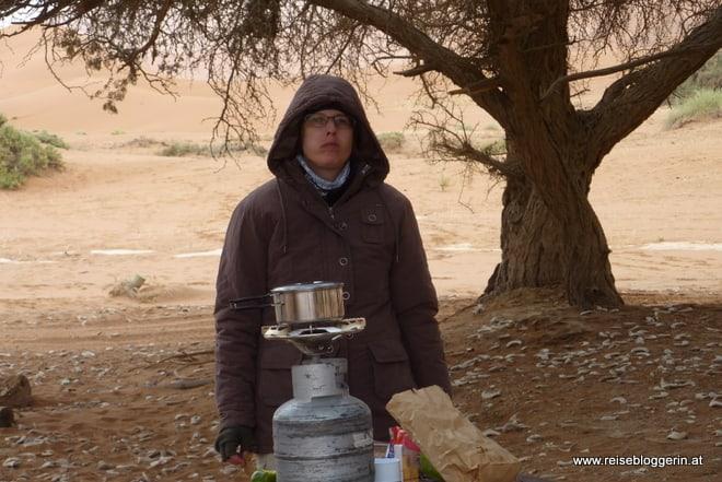 Die Reisebloggerin in Namibia