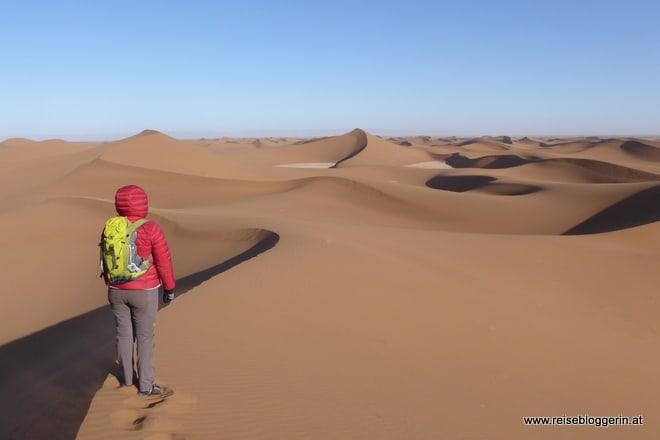 Aussicht in die Wüste