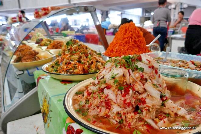 Kimchi am Markt von Taschkent