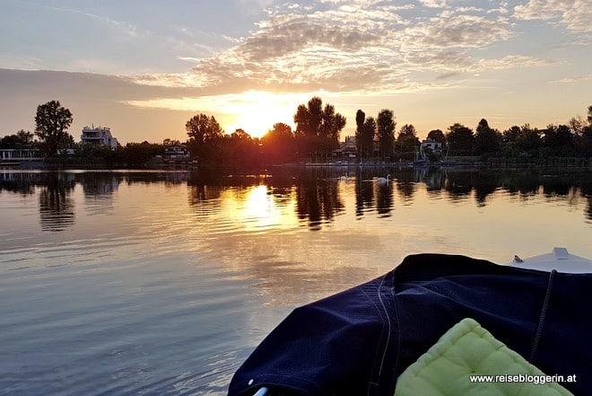 Mein Lieblingsplatz: die Alte Donau