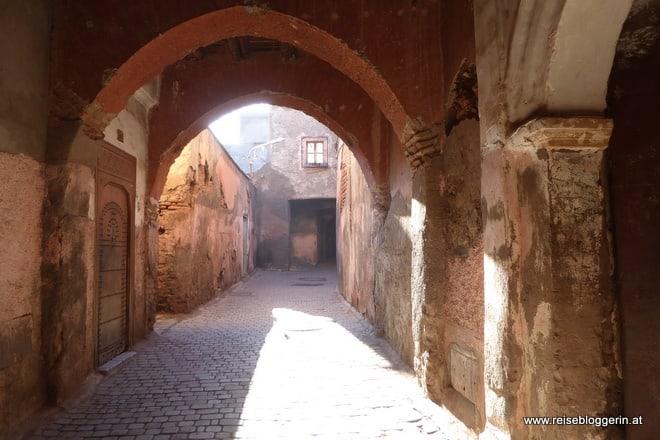 In der Medina von Marrakesch