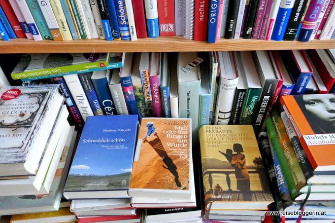 Die Bibliothek der Reisebloggerin